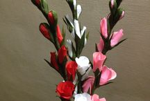Spring mood / Paper flowers, spring ideas...