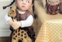 Catherine Muniere / Puppenhauspuppen