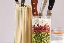 Ножи и подставки
