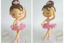 torta, balerina zsúr / Kislány születésnapi zsúr ötletek. Torta, dekoráció, játék
