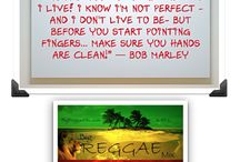 """Bob Marley Quotes on Big Reggae Mix / Bob Marley was born on February 6, 1945. He grew up in the rural village of Nine Miles in St. Ann, Jamaica, and the particular customs and traditions of this town would influence his songwriting and beliefs later in his life.   We honor Bob Marley here at Big Reggae Mix, """"The Global Healing Station.""""™  We invite you to read and share some of Bob's Greatest Quotes."""