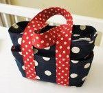 Box diaper bag