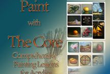 Gifts for Beginner Artists Painting with Acrylics / Awaken the creative sprit...#inspiration,#gifts,#artist,#artists,