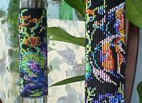 Beading On Glass / Beading on glass patters & kits. / by Donnie Martin