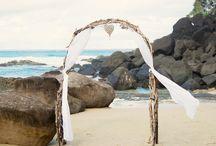 DragonTide ... Blue & Tattooed ... Our Beach Wedding / Date - 5th April 2015 Location - Froggies Beach & Snapper Rocks Coolangatta