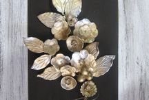 55*35cm ceramic branch of flowers