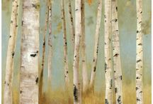 birch trees / by Meagan Shea