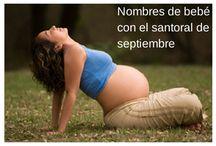 Nombres de bebé con el santoral del mes / by BabyCenter en Español
