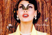♥ Bu-bu-butterflies ♥ / Si vede che mi piacciono le farfalle?