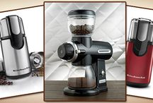 KitchenAid Coffee Grinders / Reviews of the best KitchenAid coffee grinders as well as getting to know the company who builds them a bit better.