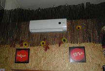 Klimatyzacja w restauracji / System klimatyzacji zamontowany w restauracji