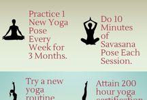 yoga / by Maria Del Carmen Gova