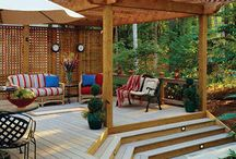 Outdoor living space / by Kim Manfredi