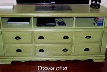 Repurposed Dressers