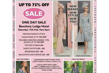 SALE ALERT / SALE ALERT: Bentleys Banchory is teaming up with Banchory Lodge Hotel to bring you a fabulous up to 75% OFF SALE for one day only! So come and grab a bargain while you can on Saturday 17th of February from 9am - 5pm! You could make a day of it and combine a spot of retail therapy with a fabulous afternoon tea at this award winning hotel in Royal Deeside. Book a table online at www.banchorylodge.com. We look forward to seeing you all there for a fun filled day!