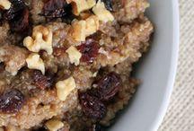 Power breakfasts / La comidas más importante del día tiene que comenzar con los mejores ingredientes. Aquí algunas ideas.