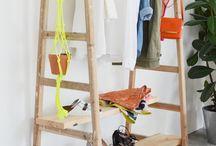 DYI garment rack
