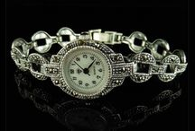 Antique Watches /  unique collection of distinctive, decorative Antique Watches set in Gold, Platinum or Silver. Beautiful workmanship and ideal gift or to grace any collection.