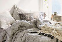 Warm, Industrial Bedrooms