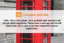 Voicemail greeting samples voicemailgreet on pinterest creative voicemail greeting sample httpvoicemailgreeting creative m4hsunfo