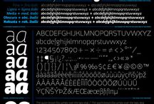 Type / Cool fonts and typefaces
