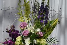 Wedding ceremony flowers / Ideas for wedding ceremony decorations-something Park Florist created, few I found interesting