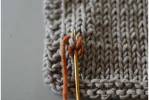 knitting / by Cate