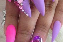 n a i l s / #nails #beauty #nailpolish #nailart #watermarbling #nailart