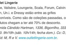 Outlet cwb. #dicas