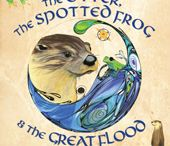 Nature Listener   / The Otter, the Spotted Frog, and the Great Flood is a charming children's book that warns us to listen to the wisdom of nature and the environment.