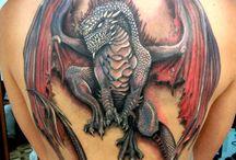 Tatoo dragoni