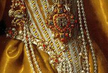 Fashion details on painting / fashion details