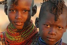 Children of African Decent / My greatest inspirations comes from children, Learning can come from little people.