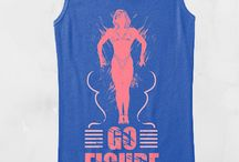 WorkoutHealthy Tees / T-Shirts to Motivate and Show Your Fitness Passion / by WorkoutHealthy