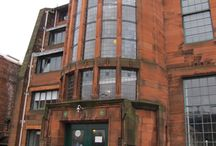 Architecture - Glasgow - Scotland Street School Museum / Charles Rennie Mackintosh's School built for the Glasgow School Board