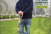 """Spear & Jackson Kew Garden Collection / Spear & Jackson and the horticultural team at Royal Botanic Gardens, Kew, England, have worked together to design a range of digging, cultivating and garden cutting tools that are """"used and recommended by Kew""""."""