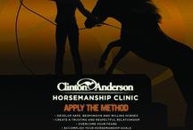 Clinics / Learn Clinton's horsemanship method one-on-one