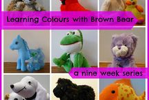 Toddler - LEARNING COLOURS / Activities to learn colours