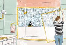 Bathroom fixes