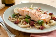 Salmon and other Seafood Recipes
