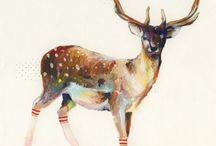 I L L U S T R A T I O N / Digital illustration + hand drawn art + painting / by Kerri-lynn Wilkinson