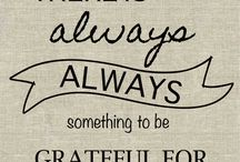 Cultivating Gratitude / ideas for families to share and cultivate gratitude all year long