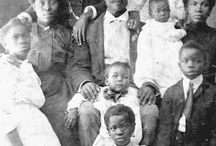 """Early Black Families / Our history is all about Family. No """"absentee father"""" stereotypes here. Our fathers and mothers were there for us then...as they are today! PLEASE ADD YOUR HISTORICAL PHOTOS and show the world that we love our families, too."""