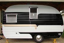 Retro caravans