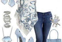 álomszép kék öltözet tavaszra és nyárra