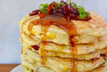 Pancake recipes sweet & savoury