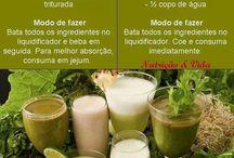 sucos e shakes fitness