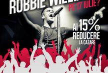 Concert Robbie Williams / Hello Hotels va asteapta la concertul Robbie Williams, cu o reducere de 15% la cazare in perioada 15-19 Iulie 2015