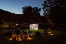 Outdoor cinemas / great relax