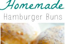 Hamburger bread